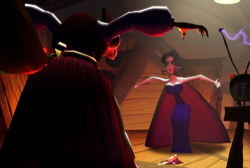 Ingame Screenshot vom Spiel A Vampyre Story