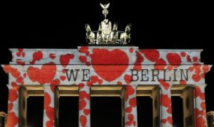 Brandenburger Tor - Feiern in Berlin