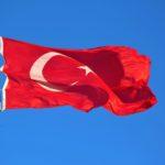 Flagge Türkei als Symbol für die türkische Filmwoche in Berlin
