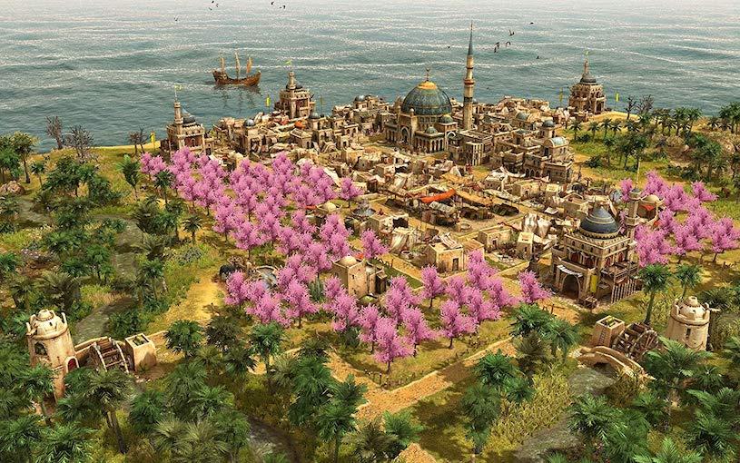 Screenshot zum Aufbaustrategiespiel Anno 1404