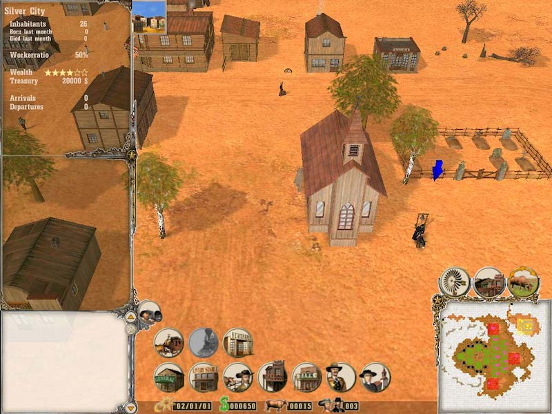 Far West: Wild West Tycoon und Management-Simulation