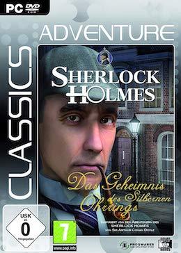 PC-Cover zum Adventure Sherlock Holmes: Das Geheimnis des silbernen Ohrrings