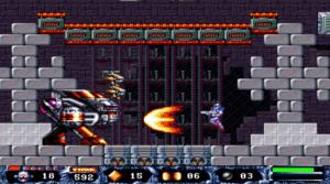 T2002 - Screenshot aus dem Turrican Spiel