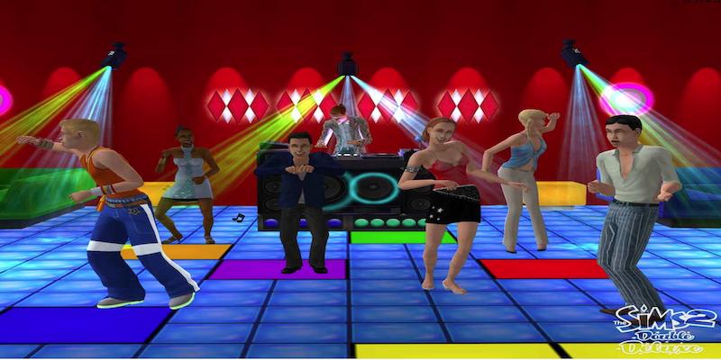 Die Sims 2 - Screenshot aus der Simulation Die Sims Teil 2