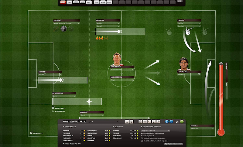 FM11 - Strategie & Taktik im Fussballmanager 11