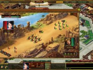 Screenshot aus dem Spiel Dschingis Khan Online