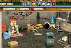 Ingame Screen zum Mice-Mafia Browserspiel