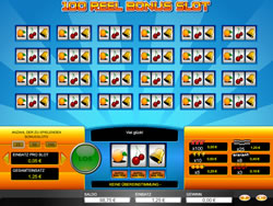 100 Reel Bonus Slot Screenshot 2