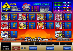 5 Reel Drive Screenshot 3