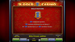 7's Gold Casino Screenshot 4