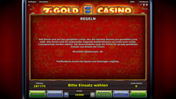 7's Gold Casino Screenshot 6