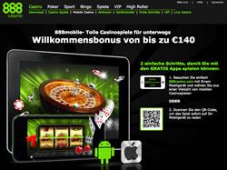 888 Casino Screenshot 2