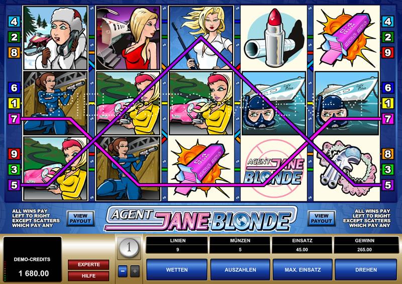 agent jane blonde spielen
