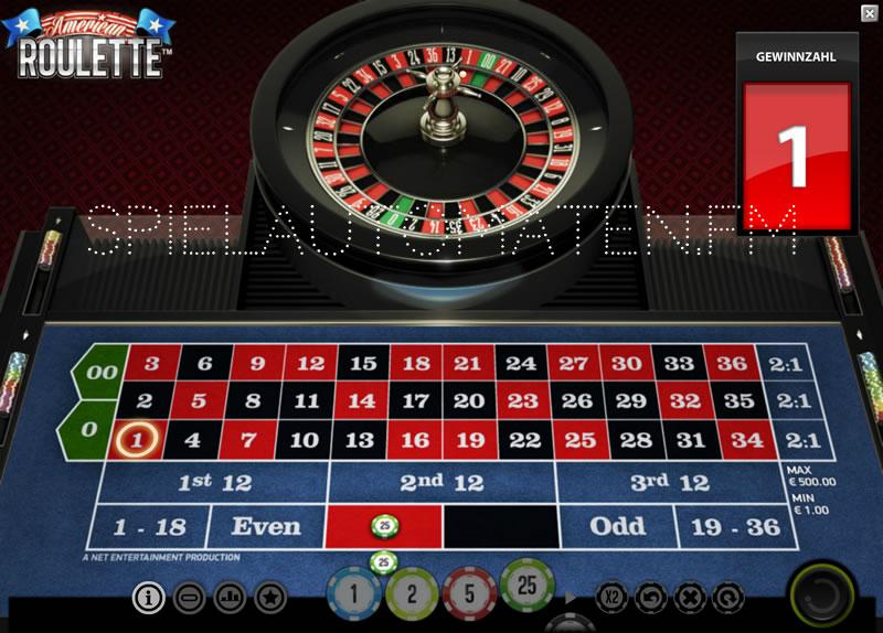 American roulette videos