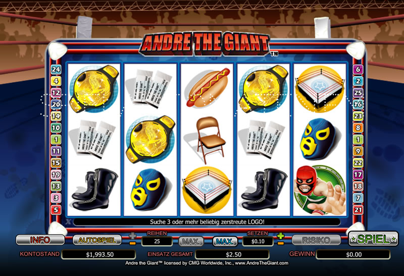 Spiele Andre The Giant - Video Slots Online