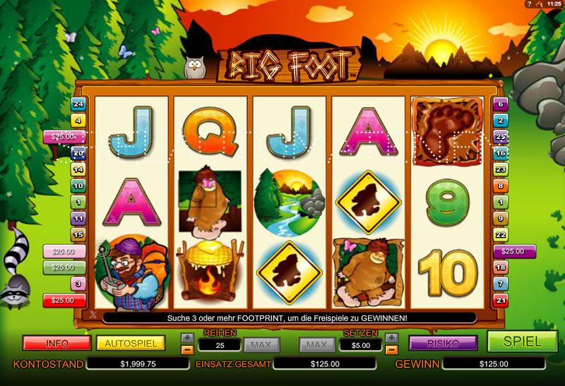 Spiele Big Foot Mini - Video Slots Online