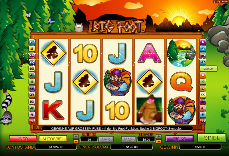 Spiele Big Foot / Scratch - Video Slots Online
