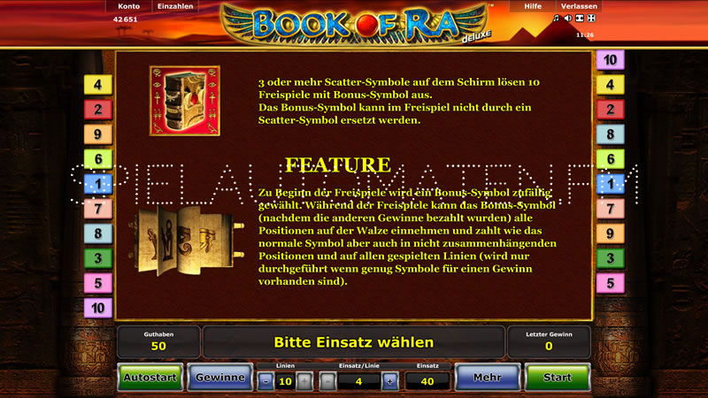 online casino erfahrung slot book of ra