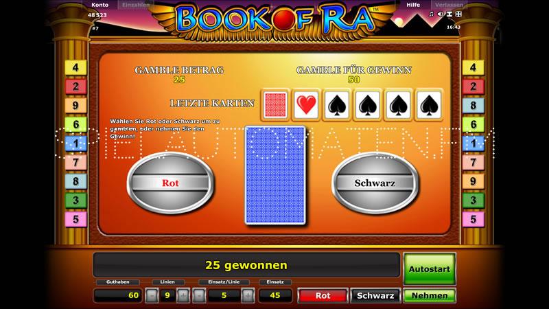 book of ra 5 euro einsatz