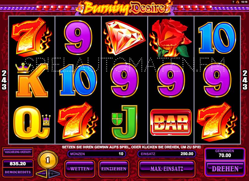 Jetzt Burning Desire im online Casino von Casumo spielen
