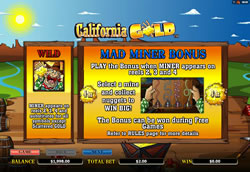 California Gold Screenshot 2