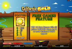 California Gold Screenshot 3