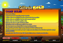 California Gold Screenshot 7