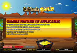 California Gold Screenshot 9