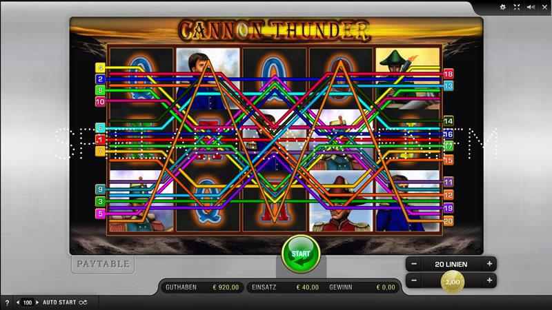 Cannon Thunder kostenlos spielen | Online-Slot.de