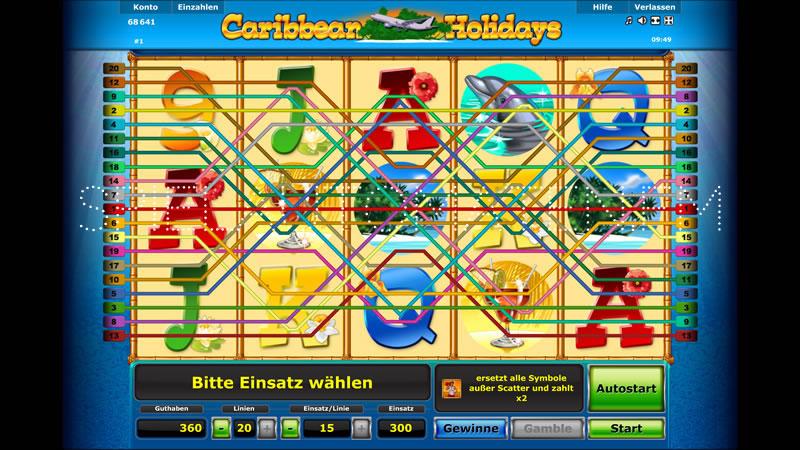 caribbean holidays spielen