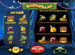 Cashapillar Scratch Card Screenshot 1