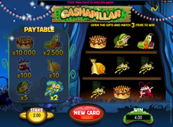 Cashapillar Scratch Card Screenshot 2
