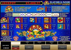 CashSplash 5 Reel Screenshot 2