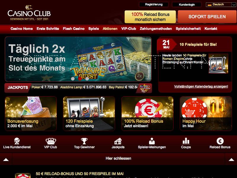 www casino club com