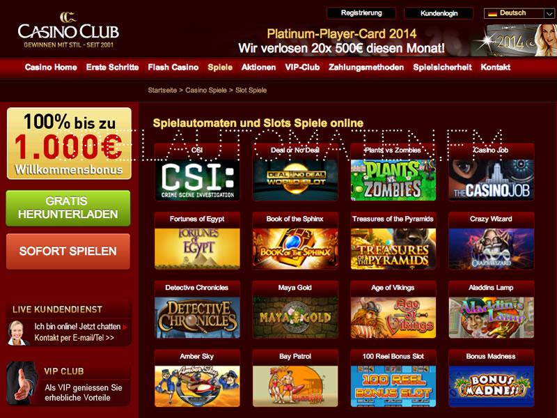deutsches online casino slots n games