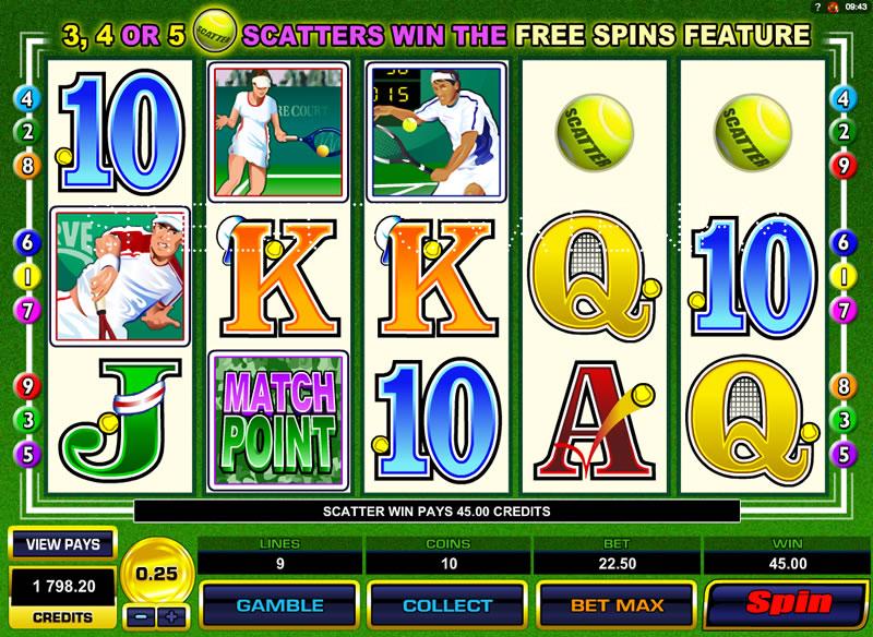 centre court online slot | Euro Palace Casino Blog