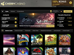 CherryCasino Screenshot 1
