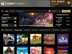 CherryCasino Screenshot 2