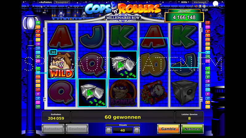 online spiele casino automaten cops and robbers slots
