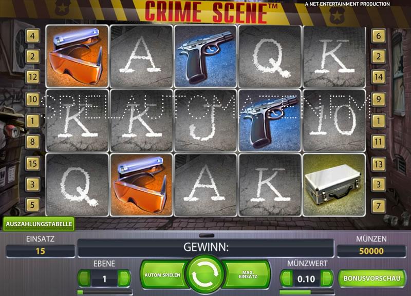 crime scene spielen