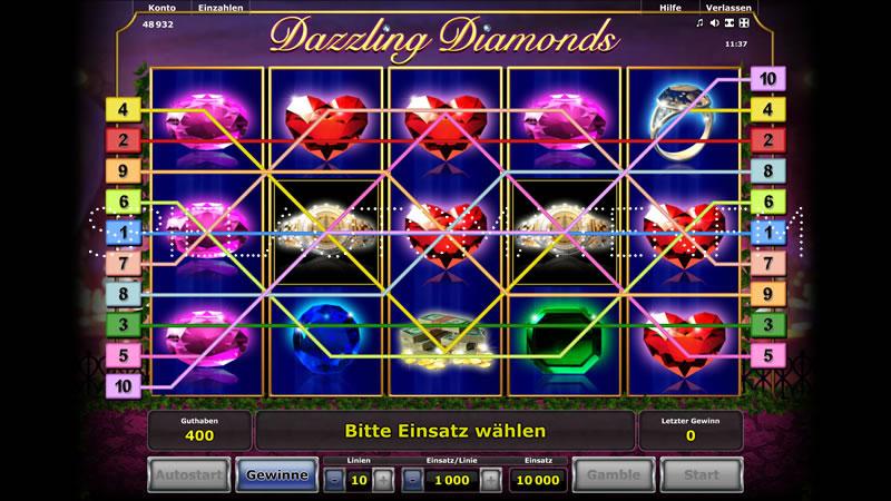 dazzling diamonds spielen