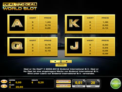Deal or No Deal Screenshot 2