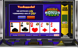 Double Bonus Poker Screenshot 1