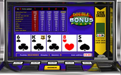 Double Bonus Poker Screenshot 2