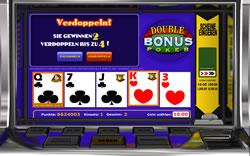 Double Bonus Poker Screenshot 4
