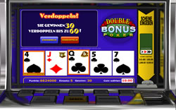 Double Bonus Poker Screenshot 5