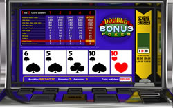 Double Bonus Poker Screenshot 6