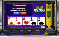Double Bonus Poker Screenshot 9