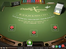 Double Xposure Black Jack Screenshot 2
