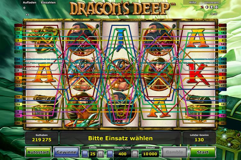 dragons deep spielen
